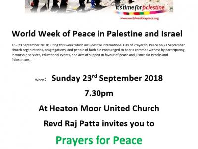 Peace in Palestine and Israel2